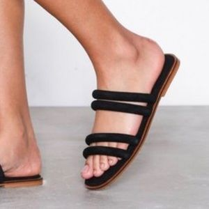 New Topshop Leather Sandal